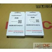 A02B-0213-K213 A87L-0001-0215#002GB Fanuc CompactFlash new