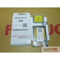 A02B-0213-K213 A87L-0001-0215#002GB Fanuc CF card and PC card adapter A02B-0236-K150 A63L-0002-0024 new